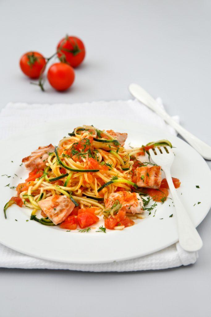 grøntsagsspagetti