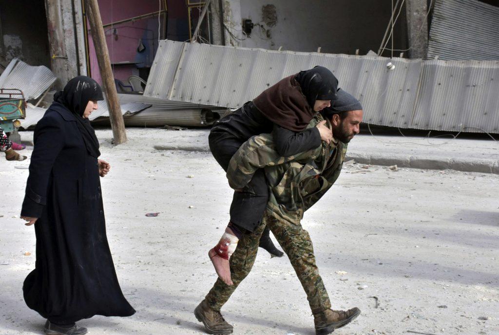 Tusindvis flygtet fra Aleppo i løbet af et døgn. (Foto: Polfoto)