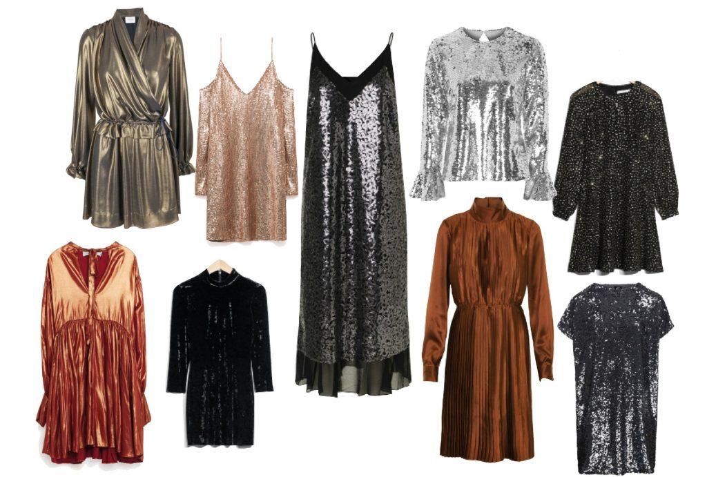 Nytår kjoler glimmer