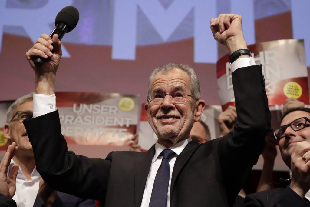 De Grønne slog højrenationalisterne i østrigsk præsidentvalg. (Foto: Polfoto)