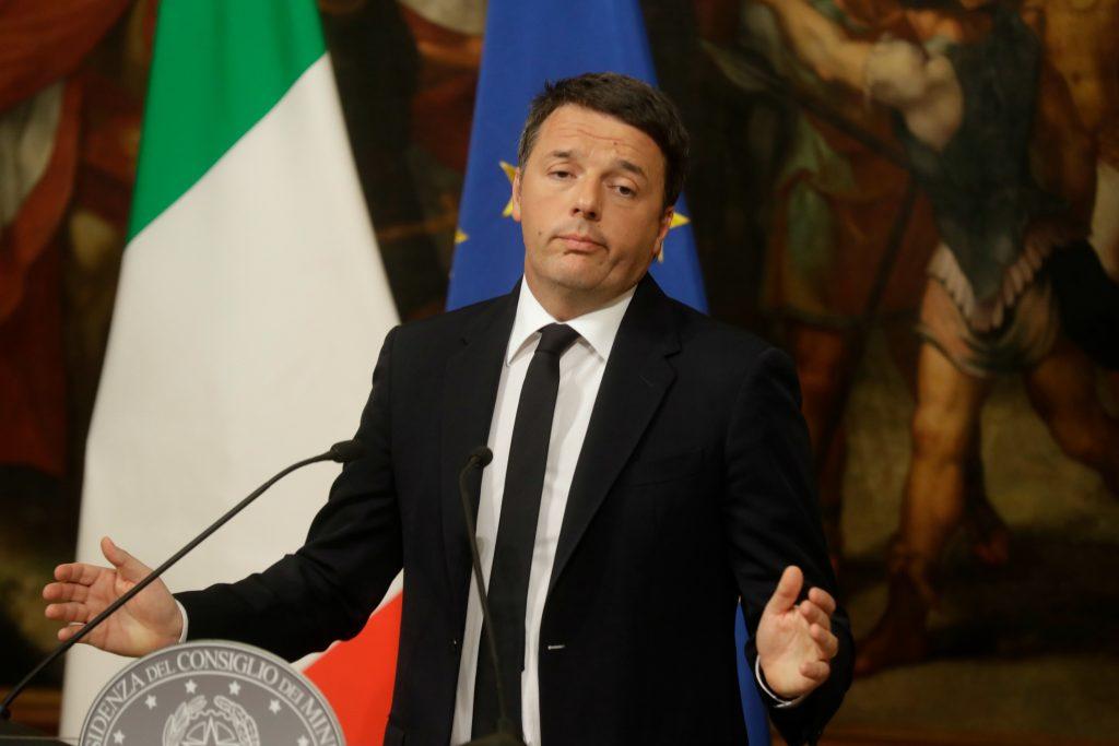 Italiens premierminister går af efter valgnederlag. (Foto: Polfoto)