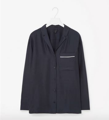Fin silke pyjamasskjorte, 790 kr., Cos.