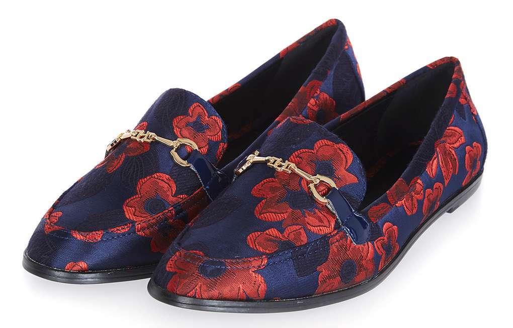 Shoppeguide: 15 farverige fund til under 400 kroner Topshop loafers
