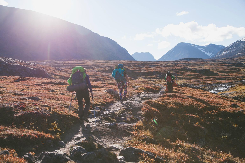 Trekking i Kungsleden i Sverige (Foto: All Over)