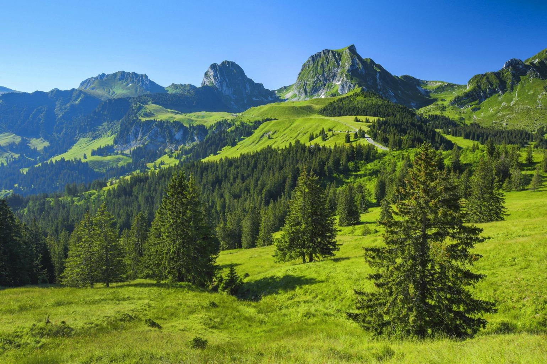 Trekking i Schweiz (Foto: All Over)