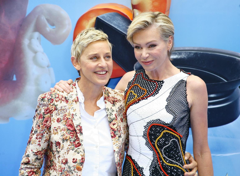 Ellen DeGeneress og Portia (Foto: All Over)