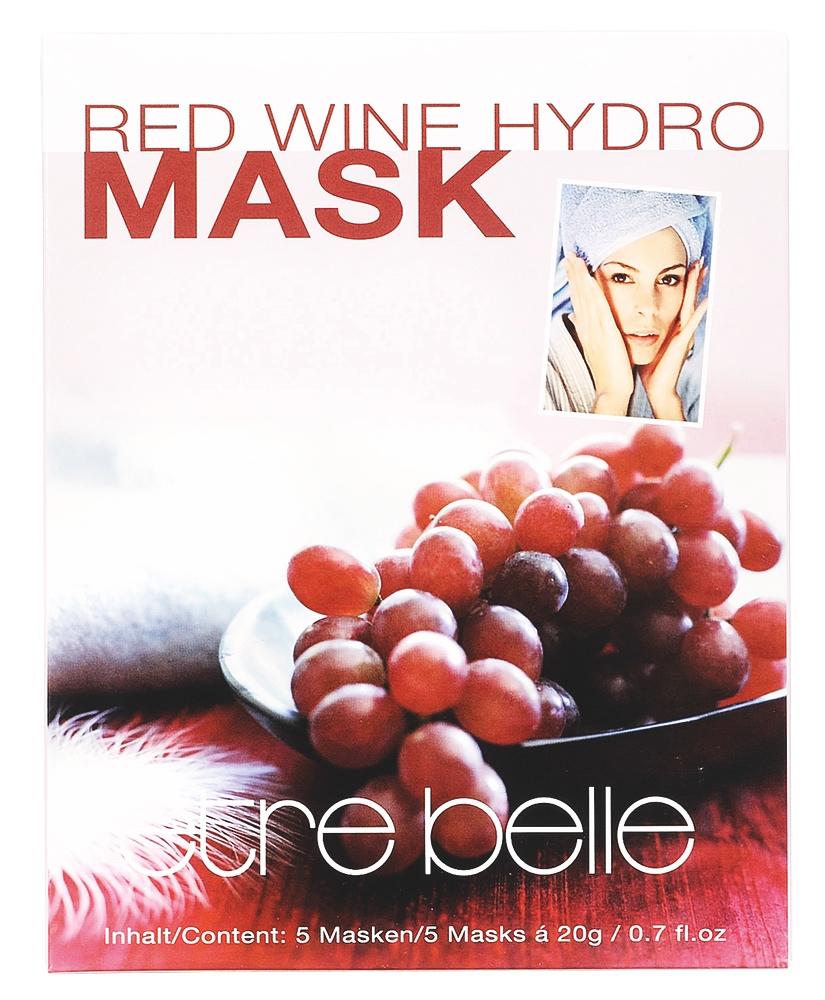 3566 Rotwein Hydro Maske 1P. (5Stu-ck) (1)