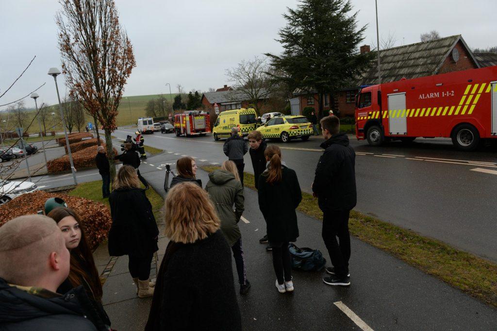 To jyske skole ofre for bombetrussel