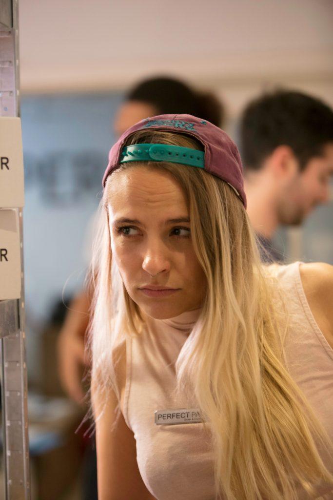 Milles rolle, Cecilie, er den eneste i serien, som ikke bygger på nogle mennesker, manuskriptforfatterne kender i virkeligheden. (Foto: Perfect Pair)