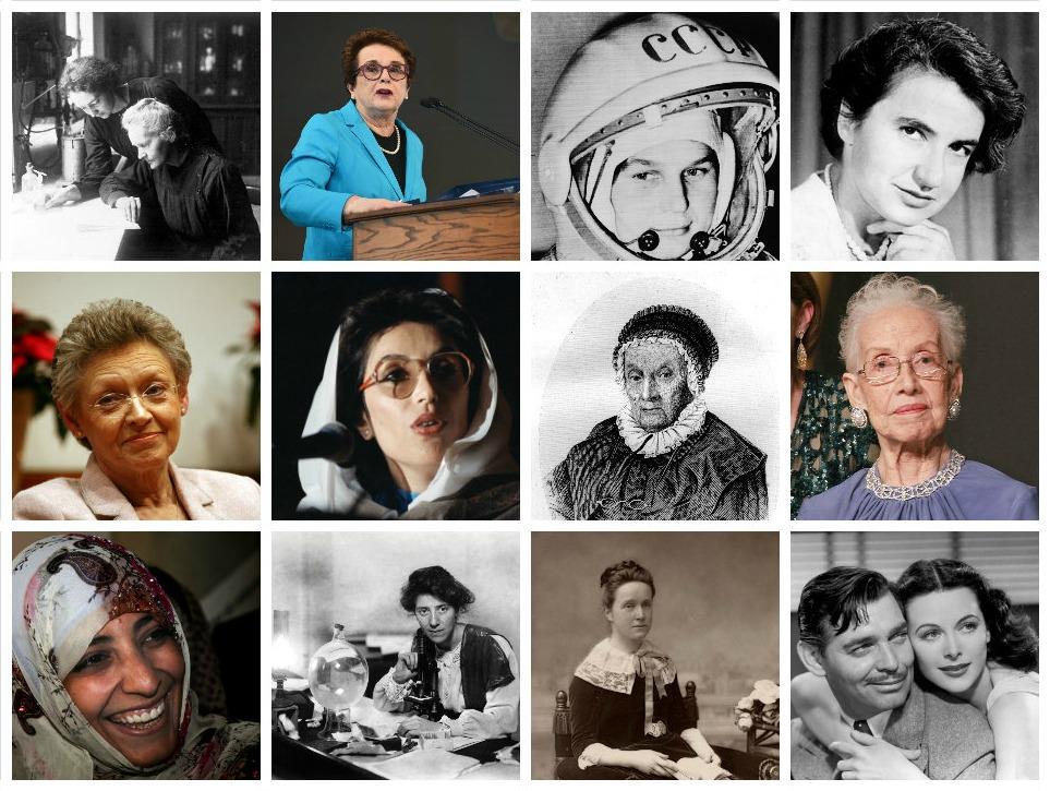 Seje kvinder, der ændrede verden