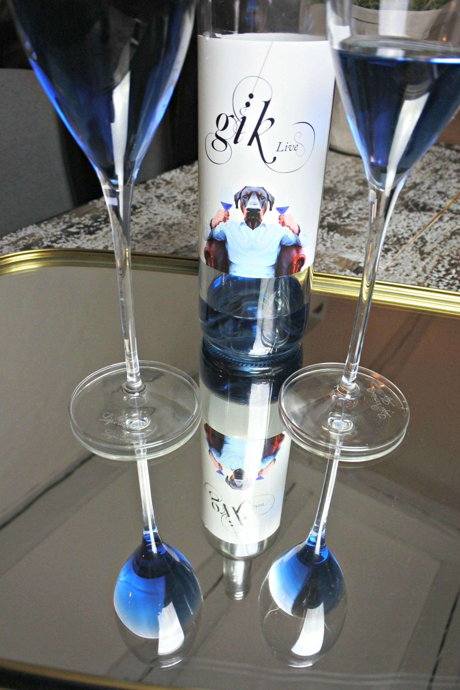 Blå vin