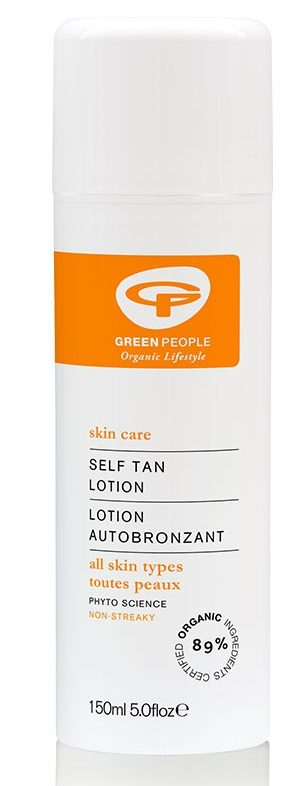 green people self tan