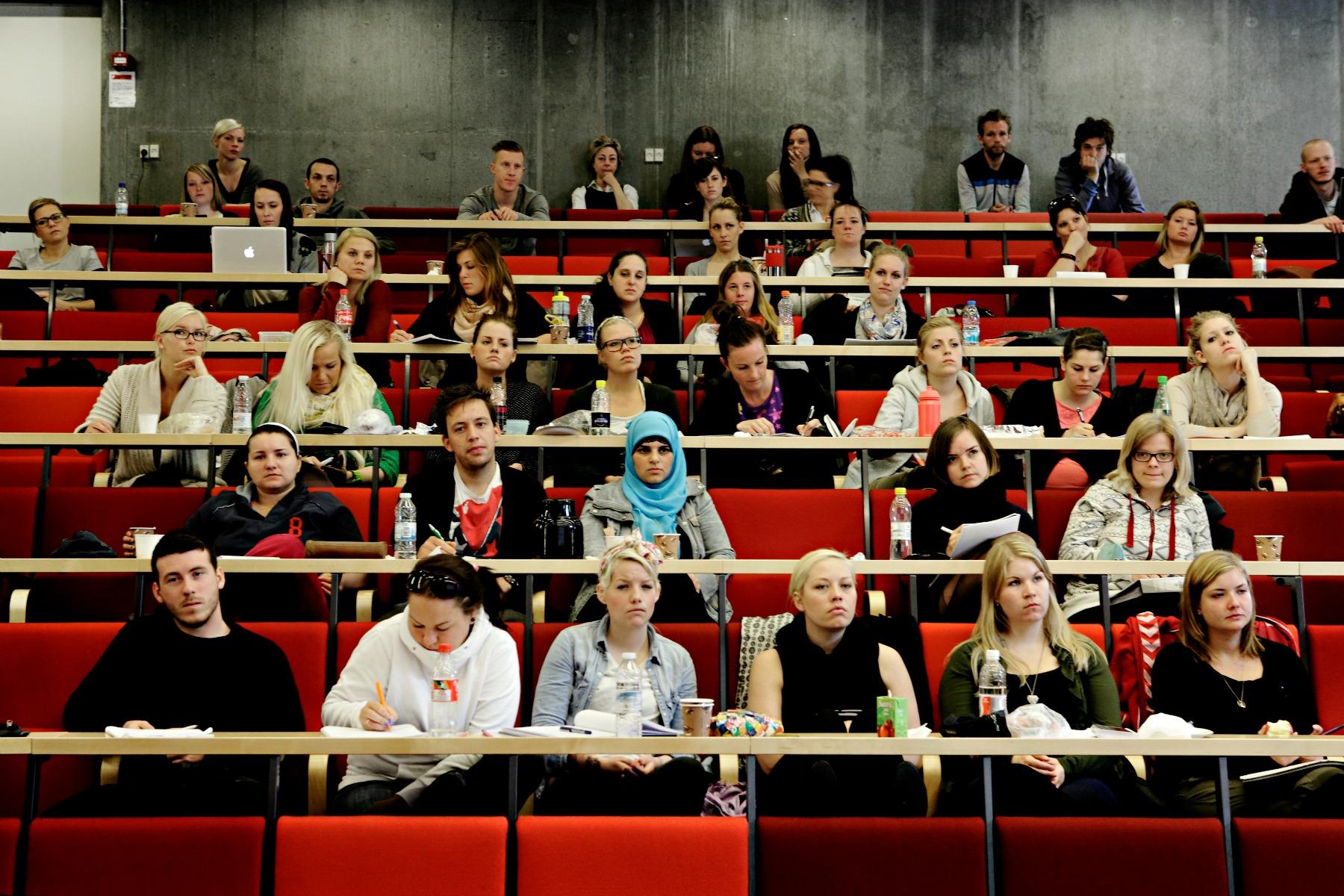 studerende, undervisning, uddannelse, videregående uddannelse, engagement