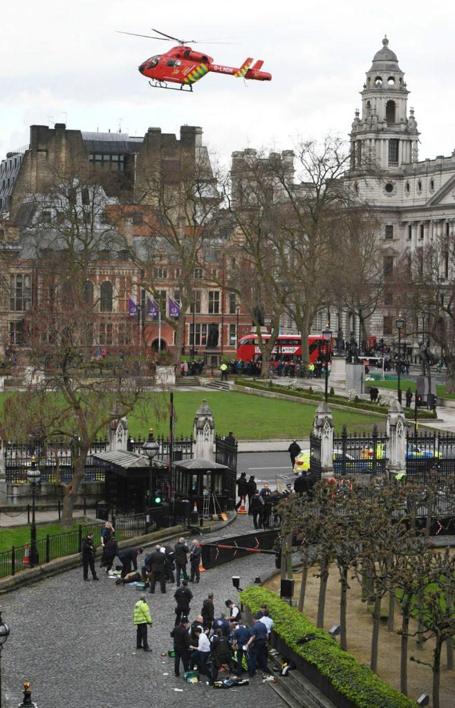 angreb london polfoto