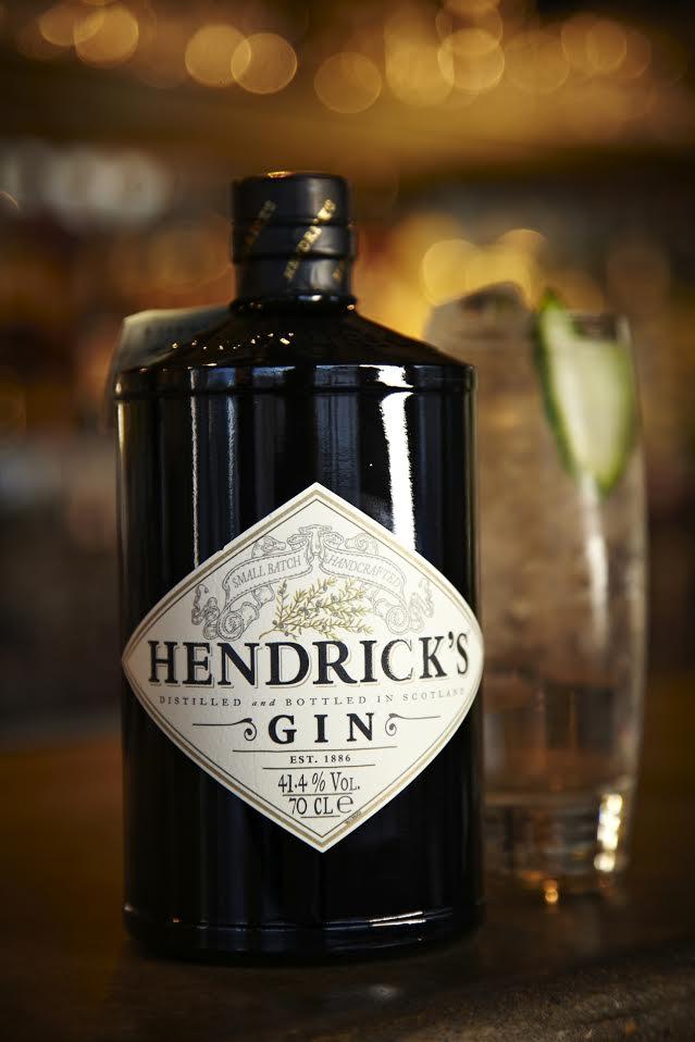 Hendricks gin, gin basil smash