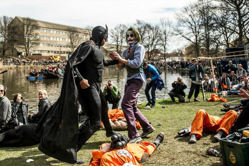 Kapsejlads. Kapsejladsen. Aarhus universitet. Universitetsparken. Uniparken.