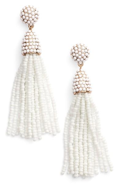 perleøreringe hvid