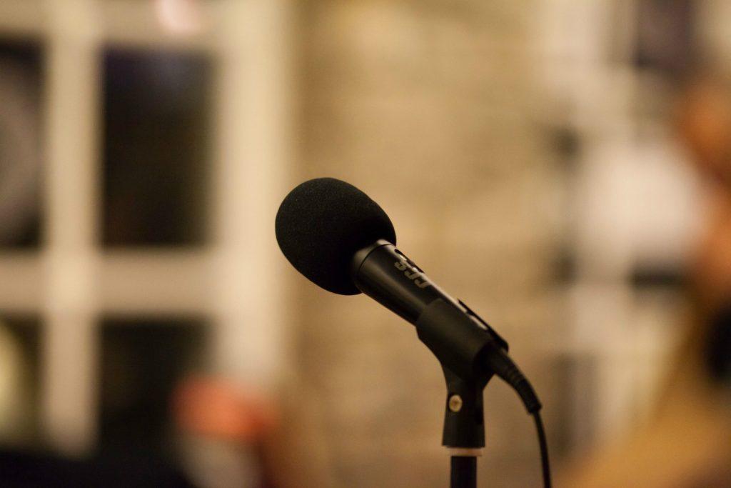 open mic mikrofon oplevelser kultur