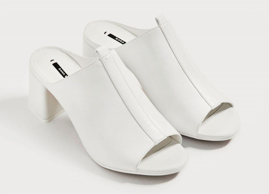 hvide sko mules