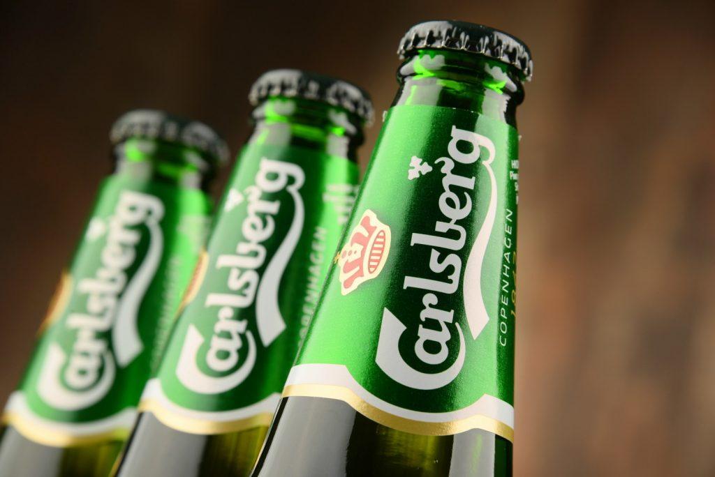 Carlsberg øl flaskeøl