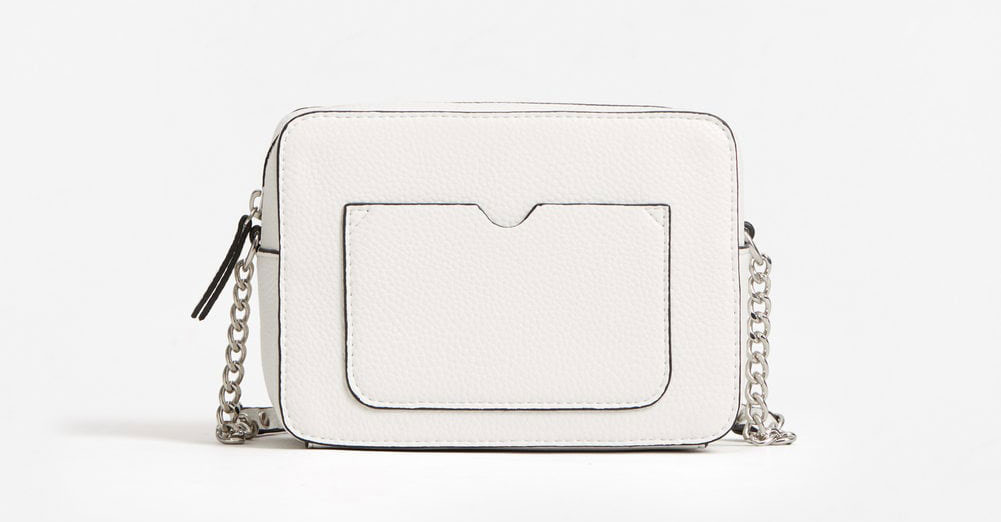 hvid taske