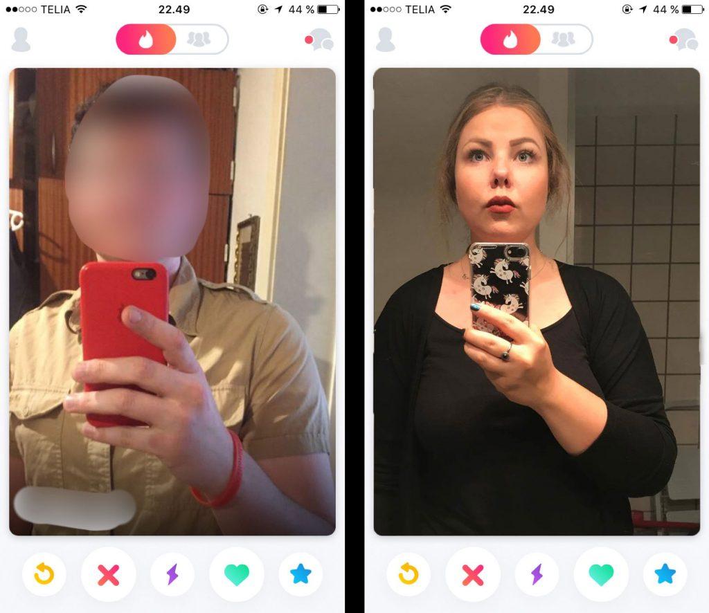 akavet-selfie tinder profilbilleder mænd