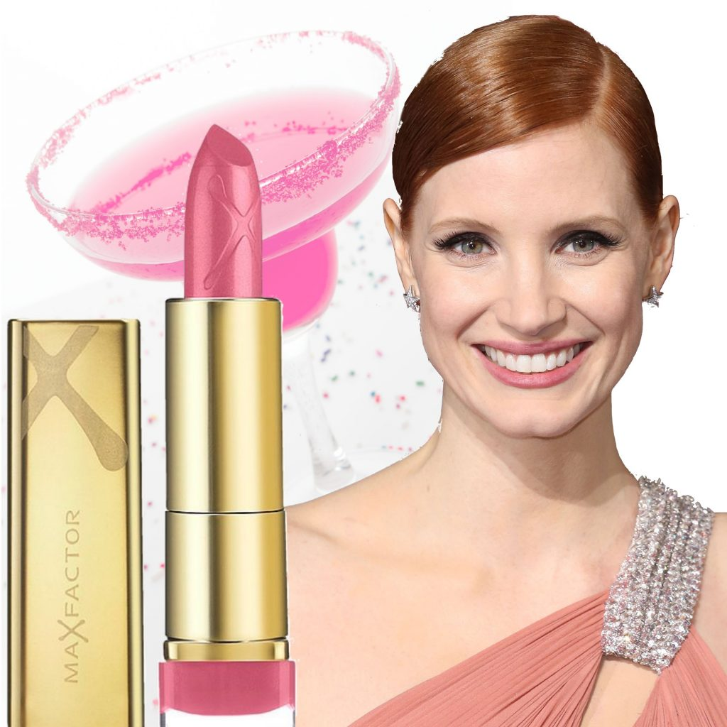 english rose jessica chastain læbestift max factor