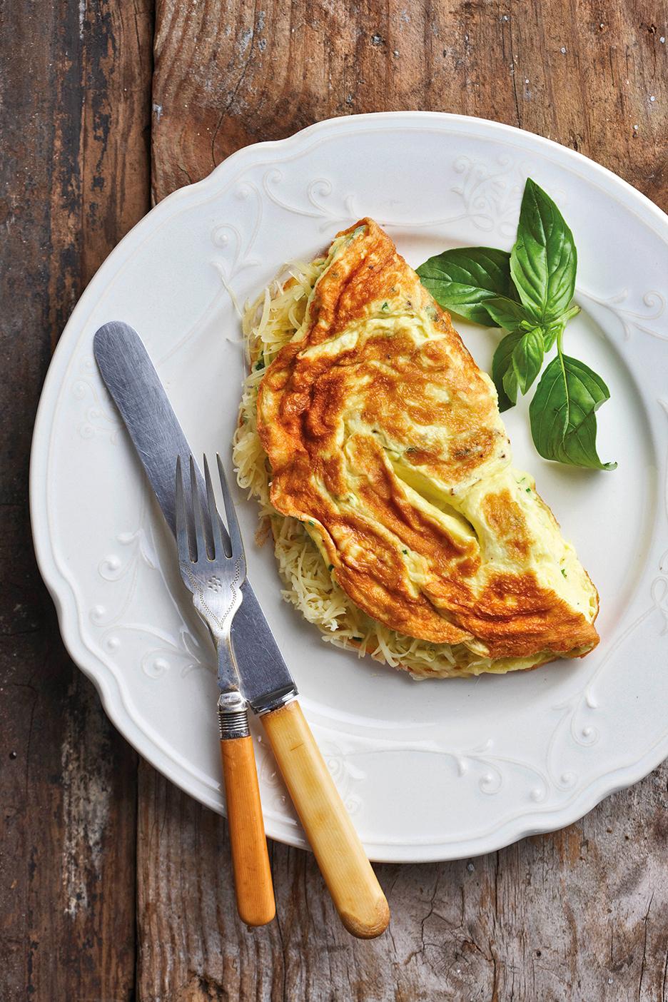 Omelet, æg, glutenallergi, glutenallergiker