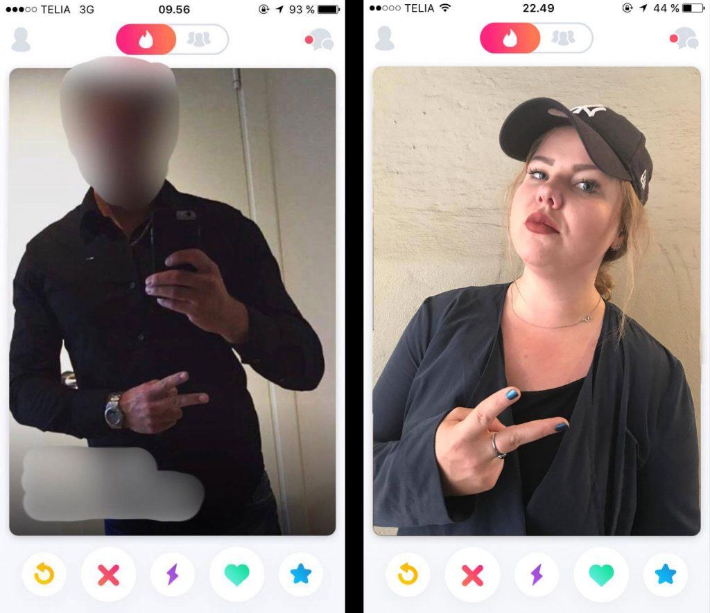 håndtegn tinder profilbilleder mænd
