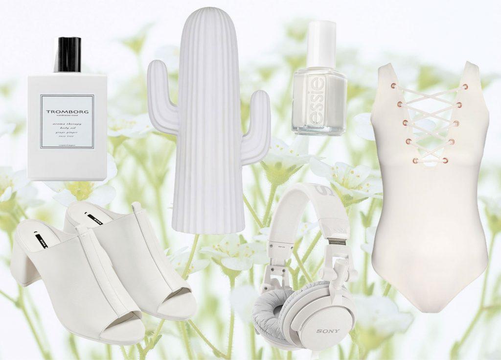 hvid hvide ting