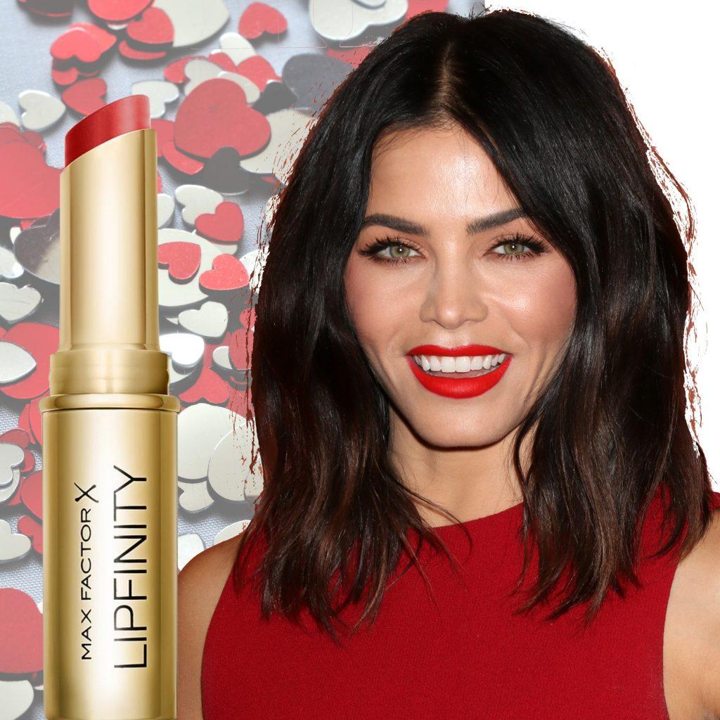 læbestift, jenna dewan tatum, rød læbestift, max factor