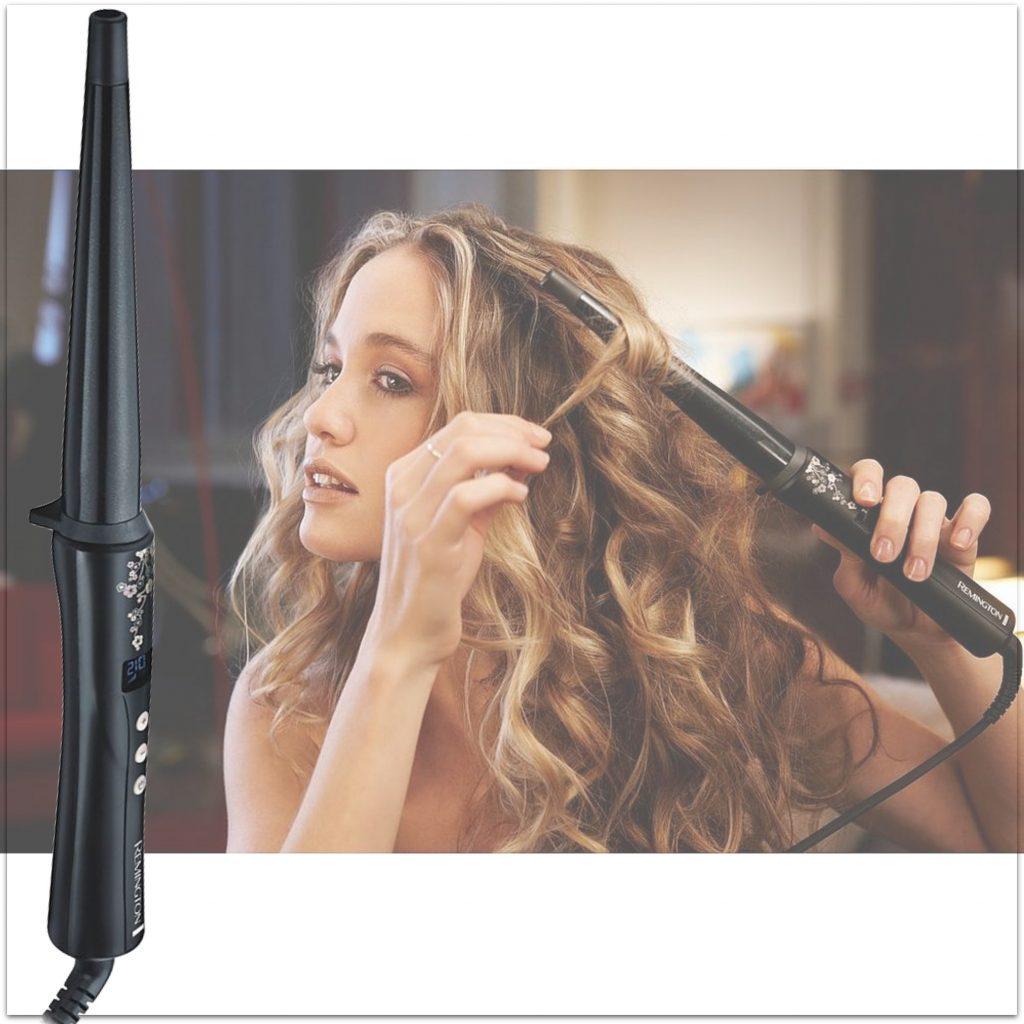 krøllejern, remington, hår, styling