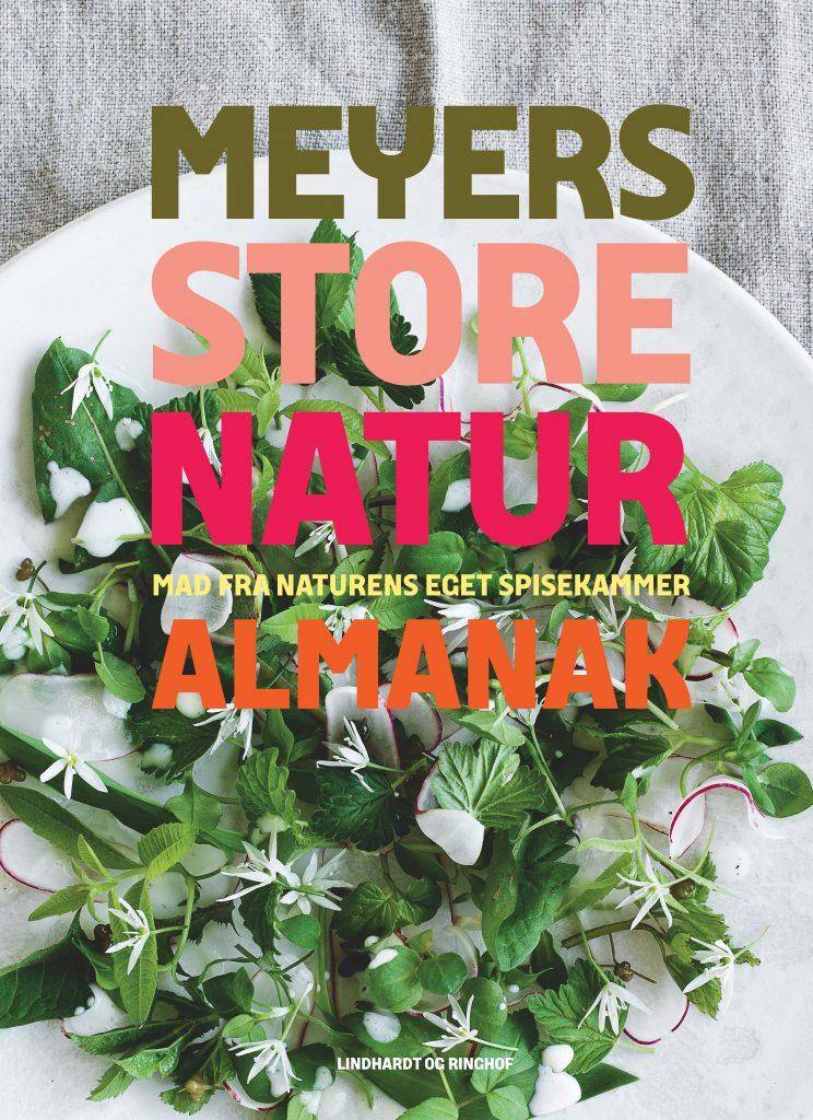 Meyers Almanak, gris med vilde urter, kærnemælk, kærnemælksdressing, gris, svin, opskrift, mad, spise, salat, grill, grillmad, urter, sommermad, sommer, urter, vilde urter, dressing,