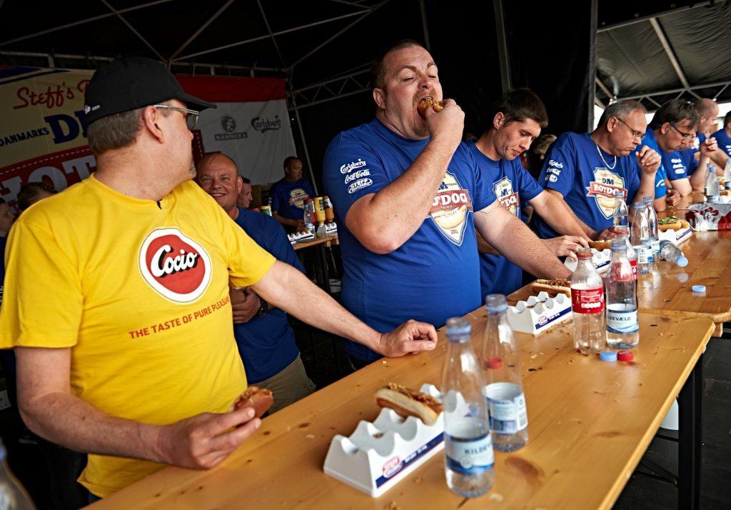 dm i hotdogspisning oplevelser kultur