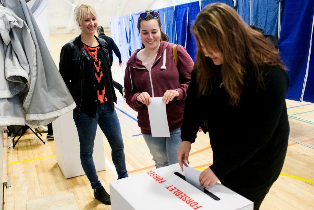 bæredygtig, bæredygtighed, bæredygtigt folketingsvalg stemme stemmeret valgseddel valg