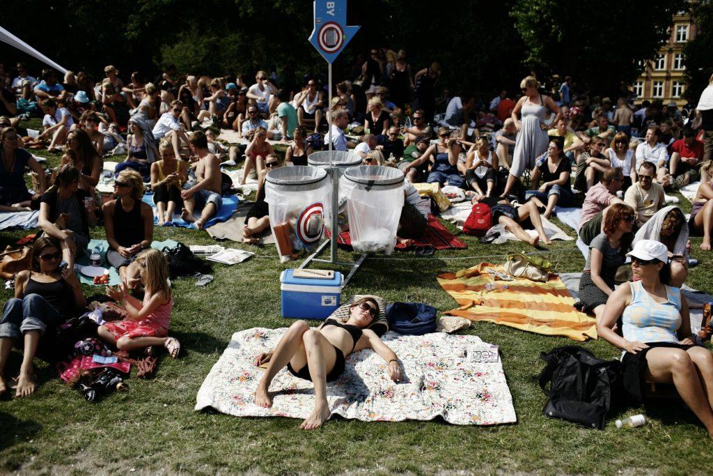 stella polaris, solbadning, park, oplevelser, gratis, chill