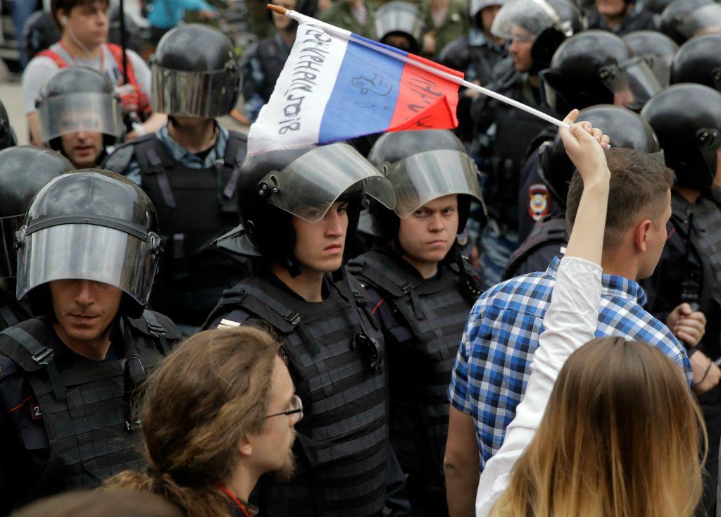 rusland, aleksej navalnij, putin, demonstrationer, politik, udland, opposition, protest, modstand, anholdelse, krimi,