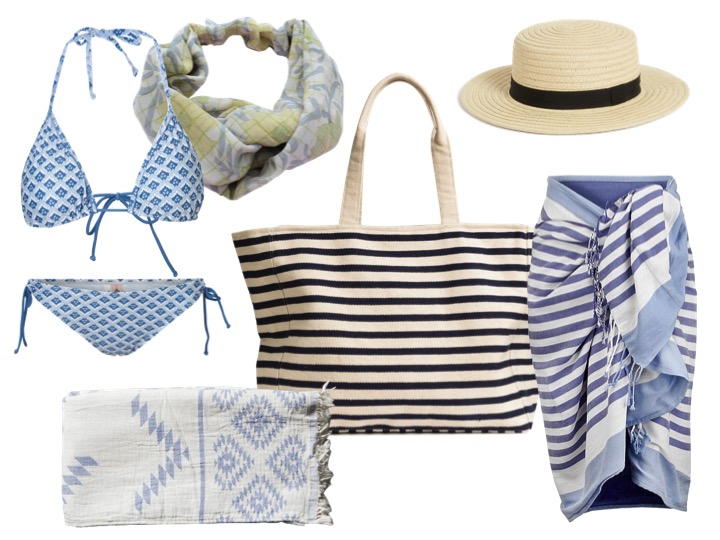 strandtasken, strandlook