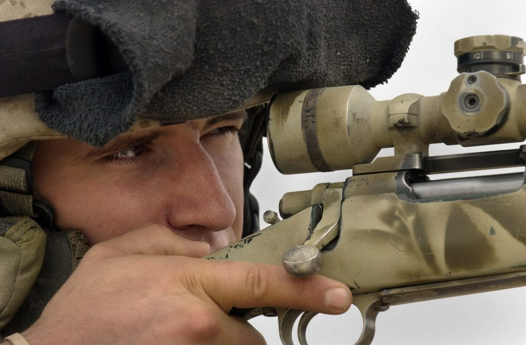 sniper, canada, krig, irak, is, islamisk stat is-kriger, terrororganisation, mosul, kamp, rekord, skud
