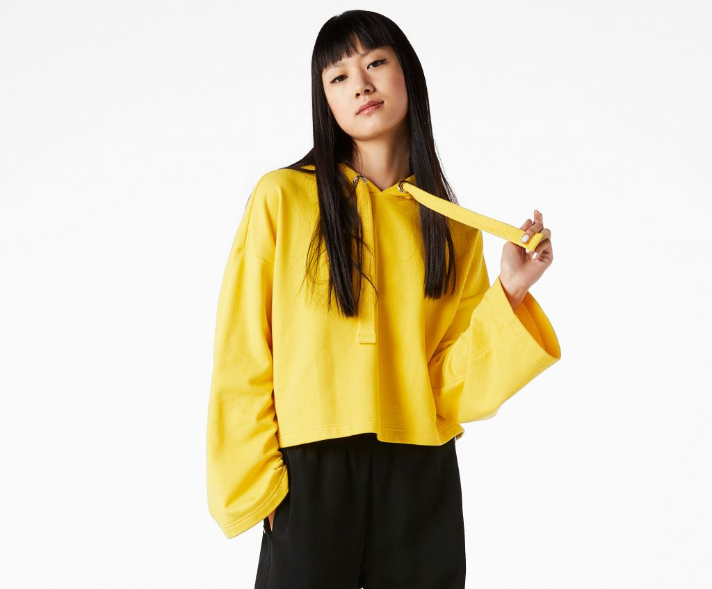 gul hætetrøje monki