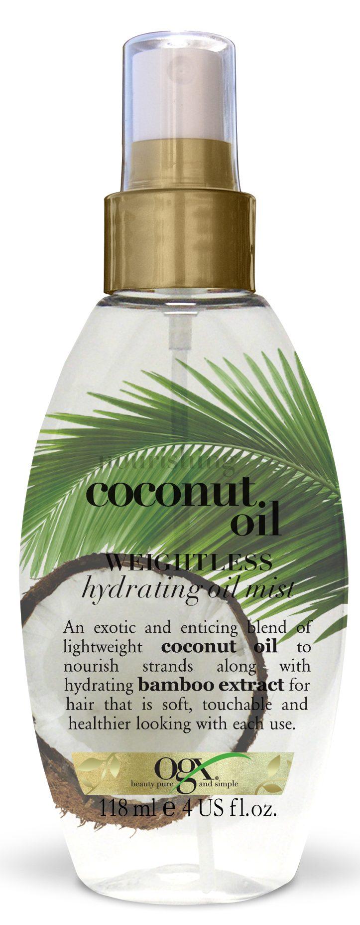 ogx kokos hårolie