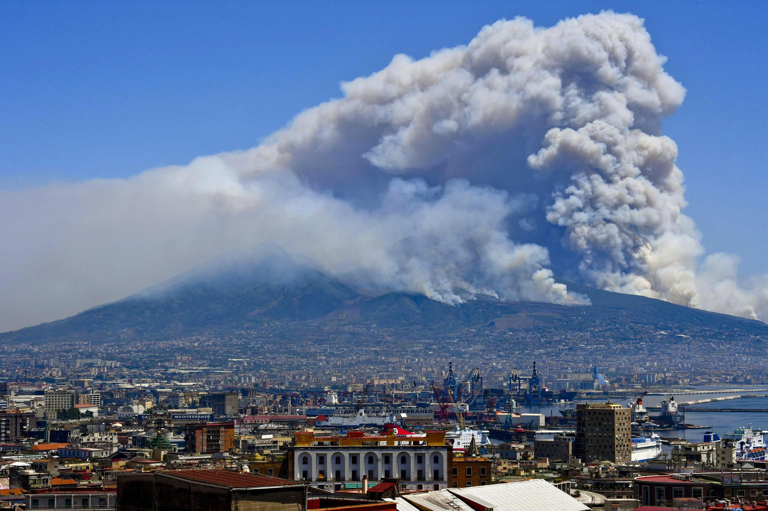 Italien skovbrand