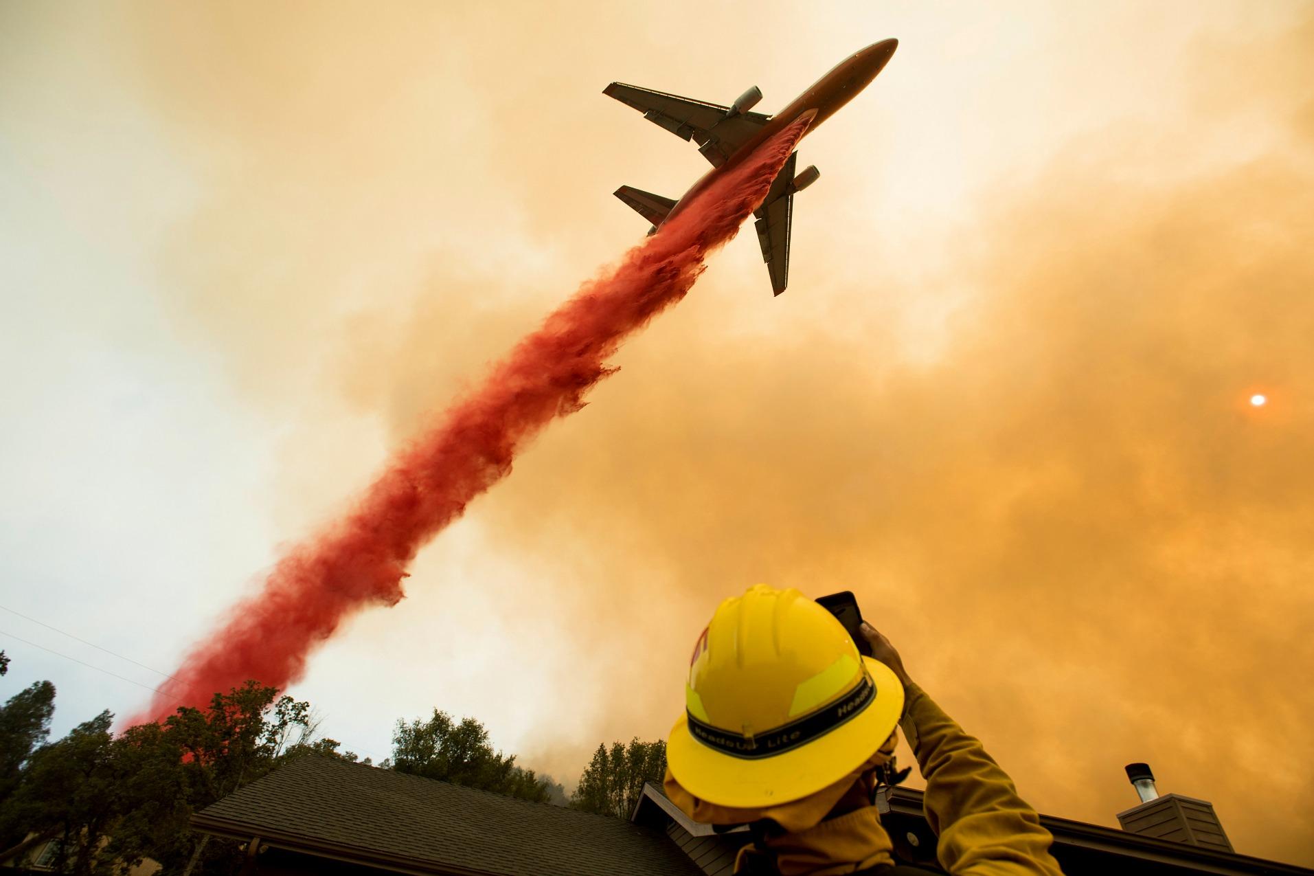 skovbrand californien