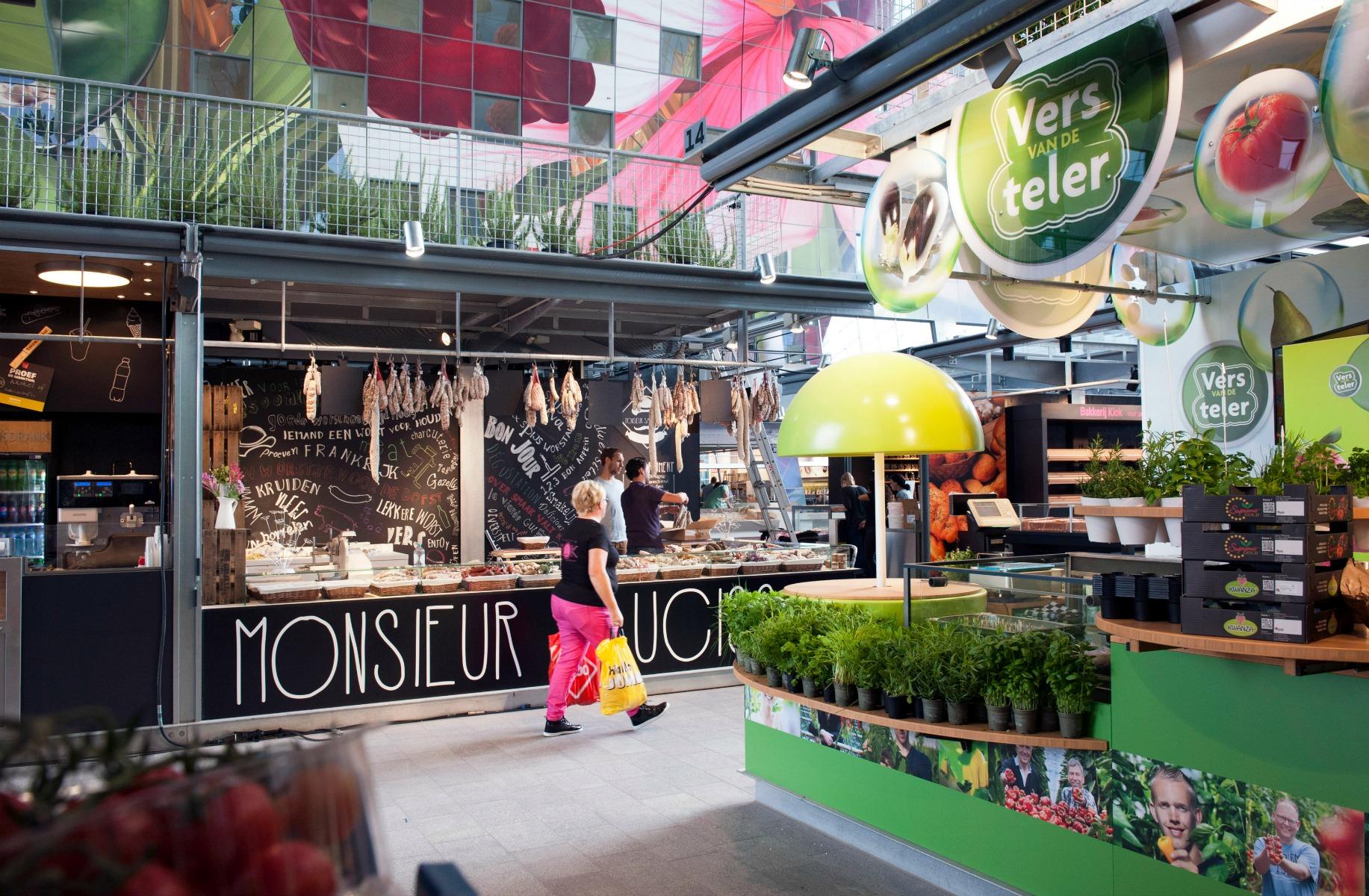 Street food market i Rotterdam. Vi glæder os til at se den odenseanske version. (Foto: All Over)