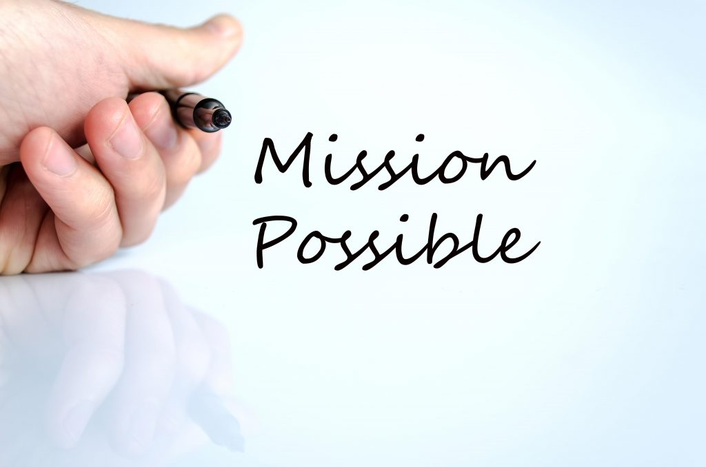 Mission possible quote