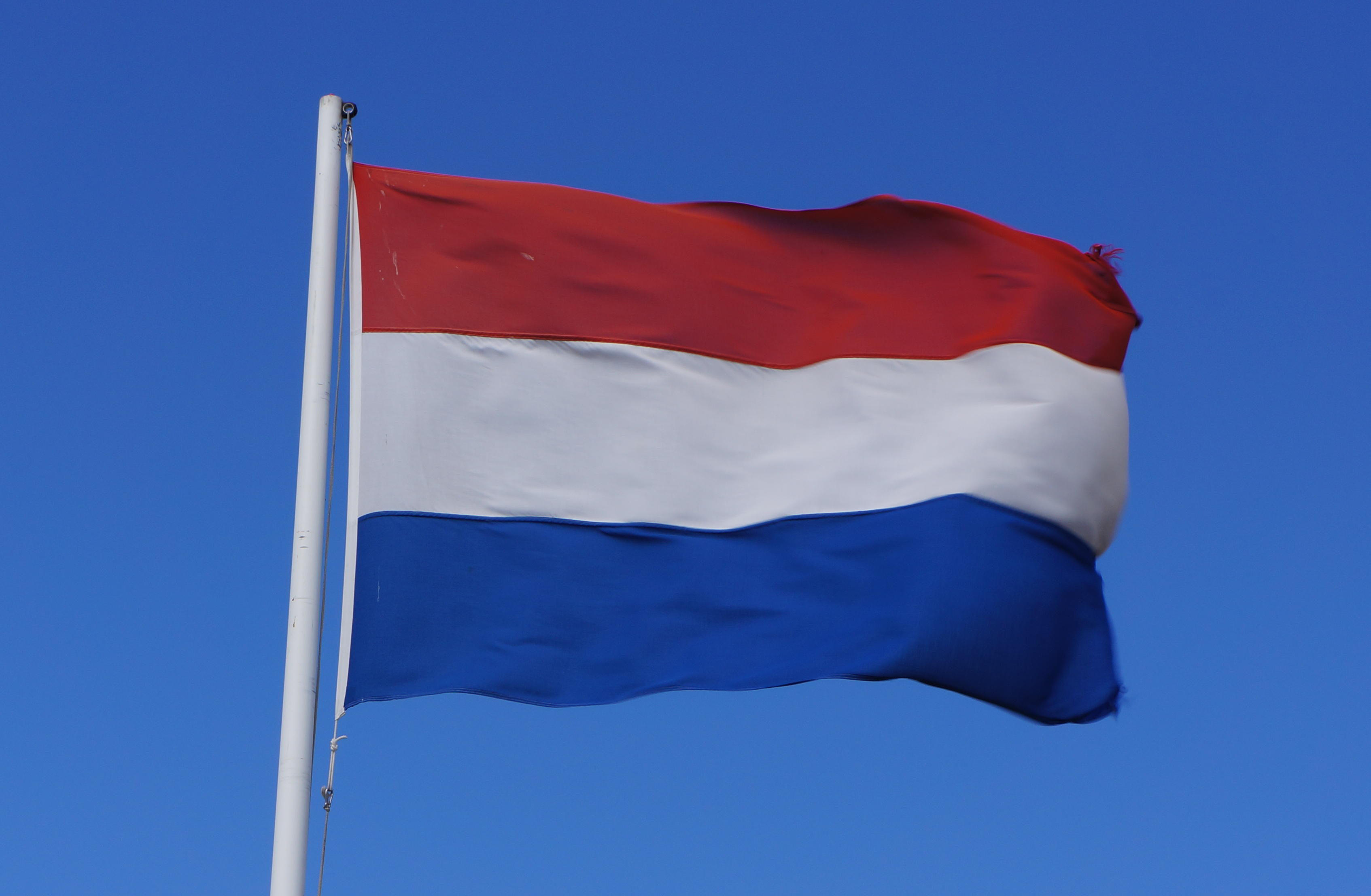 holland, hollandsk flag