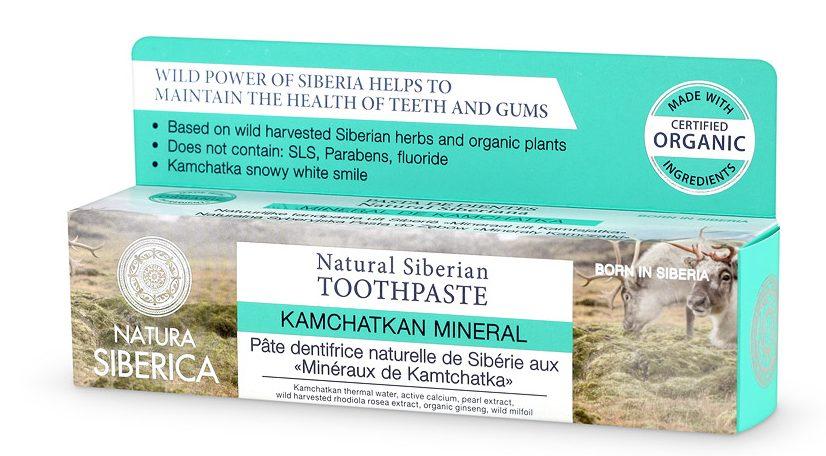 natura siberica tandpasta