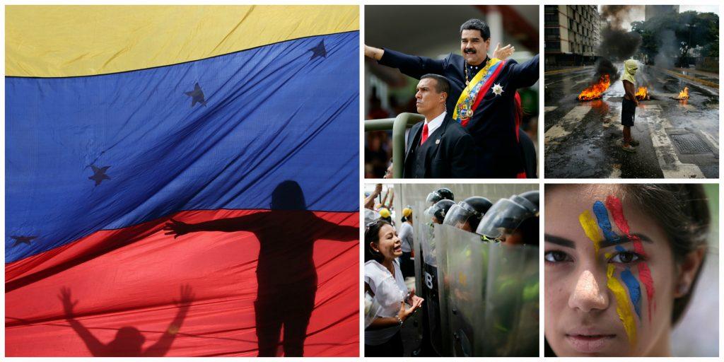 nicolas maduro, madoru, præsident maduro, venezuela, venezuleanere, demonstration, demonstrationer, demonstranter, protest, demo, sammenstød, krig, kamp, kampe, konflikt, krise, sydamerika, diktatur, diktator, diktaturstat, valg, valgfusk, valgsvindel, svindel, snyd, fusk, undertrykket, grundlov, forfatning, opposition, politik, modstandere, militær, borgere, hugo chavez, socialisme, olie, oliestat, økonomi, regering, død, såret, sårede, døde, arresteret, arresterede, valgkamp,