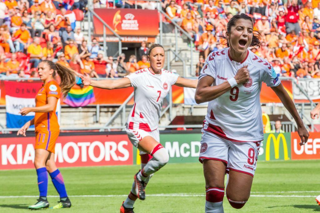 nadia nadim, kvindelandsholdet, fodbold