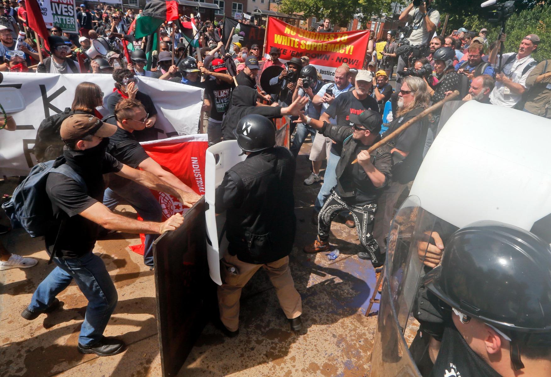 charlottesville, racisme, højreekstremister, white power, demonstration, protest